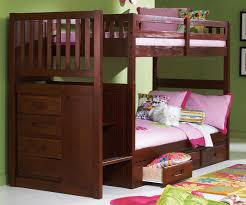 Cheap Twin Bed With Trundle Bedroom Perfect Combination For Your Bedroom With Stair Bunk Beds