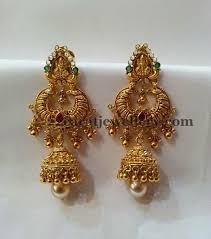 earrings gold design best 25 earring gold jewellery designs ideas on