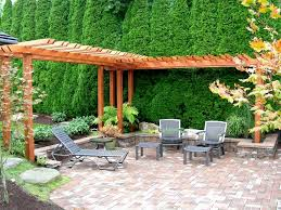 backyard wedding landscaping ideas house design and planning