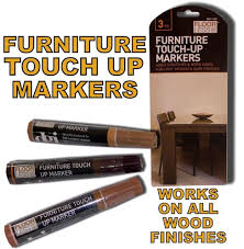 3 furniture touch up pen marker nicks marks scratches laminate
