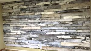 How To Whitewash Wood Walls by Pallet Wall Youtube