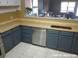 Installing Butcher Block Countertops Domestic Imperfection - Butcher block backsplash