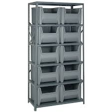 storage shelves with baskets plastic storage bins and crates organize it