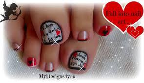 21 valentine toe nail designs valentine 039 s day toe nail art