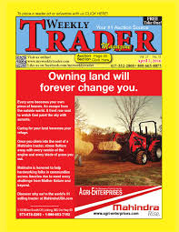 weekly trader april 7 2016 by weekly trader issuu