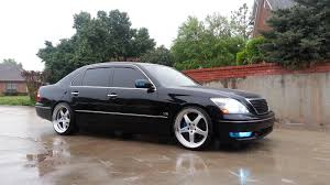 lexus ls400 modified most aggressive offset width without fender mods also wheel