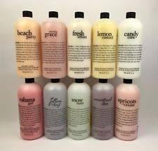 philosophy bath and shower gel philosophy wash ebay