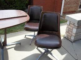 Chromcraft Furniture Kitchen Chair With Wheels Indoor Chairs Chromcraft Kitchen Chairs Vintage Chromcraft