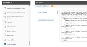 Ebay Excel Template Ui Removing Active Content From Ebay Listings And Listing