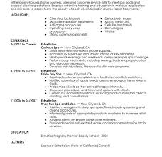 Esthetician Resume Template Download Interesting Ideas Esthetician Resume 2 Unforgettable Esthetician