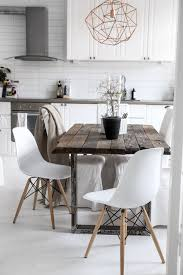 Zara Esszimmerstuhl Love The Rustic Industrial Table In The Modern Design Lights