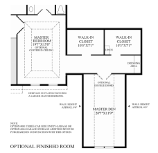 Master Suite Floor Plans Addition by The Hills At Lagrange The Everett Home Design