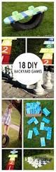 18 diy backyard games bees and roses