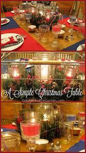 a simple christmas table e2 80 93 lady behind the curtain i love