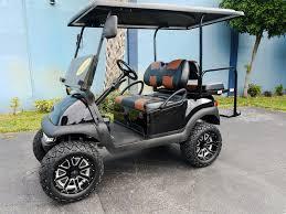 2014 black lifted golf cart club car precedent high speed 20mph