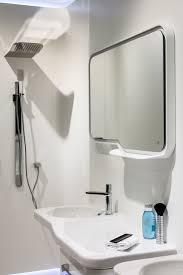 bathroom ideas for small bathrooms wall hung corner toilet