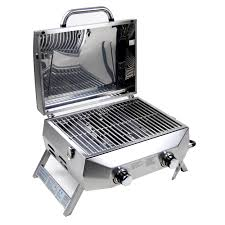 superspace 20 000 btu 2 burner stainless steel bbq tabletop