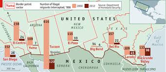 map usa mexico border secure enough the us mexico border