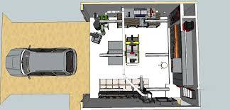 chris u0027 planned garage workshop the wood whisperer