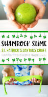 shamrock slime st patrick u0027s day kids craft happiness is homemade