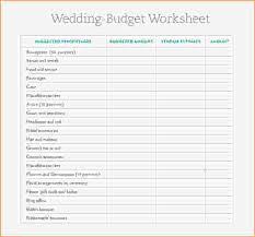 wedding budget template 6 wedding budget sheet pay stub template