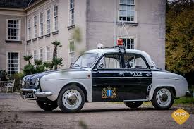 renault dauphine for sale cops and robbers cinecars renault dauphine police car