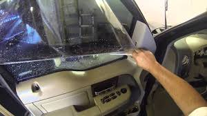 All Pro Window Tinting Window Tinting Any Side Window How To Video Step By Step Using Go