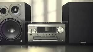 home theater audio system panasonic u0027s sc pmx70 hi fi audio system youtube
