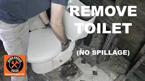 What Is A Bathroom Fixture by How To Remove A Toilet In A Bathroom Without Nasty Spillage Step