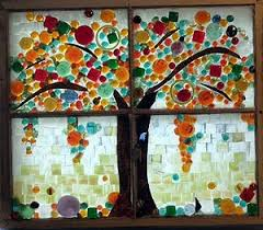 88 best stained glass images on mosaics fused glass