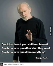 George Carlin Meme - george carlin meme george carlin on parenting otterwomyn usa