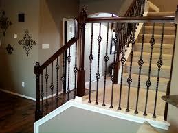 decor deck handrails lowes stair railing banister ideas