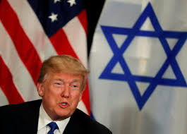 donald trump israel trump may withhold aid unless palestine rejoins israel for peace