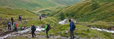 Lake District England Map by Lake District 5 Peaks Challenge Mountain Trek Challenge To Uk