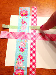 diy washi tape birthday card styled by jess