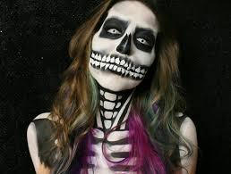 body painting halloween costumes skeleton body painting youtube