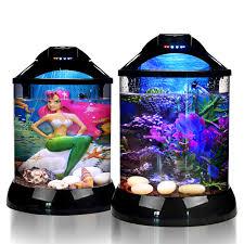 aquarium bureau 3d fond betta réservoir d or poissons bol de bureau aquarium avec