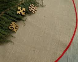 Decorative Christmas Tree Skirts by Rustic Tree Skirt Etsy