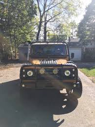 land rover classic lifted 1986 land rover defender 110 for sale 2011301 hemmings motor news