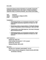 100 work resume templates job resume example sample of job