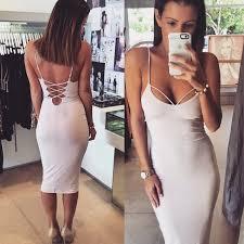 tight dress uslookbook straps tight dress 7114652