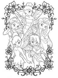 tinkerbell coloring pages kids only pinterest tinkerbell