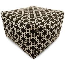 home d cor bean bag ottomans floor cushions majestic home goods