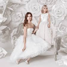 matching wedding dresses yulia prokhorova dreamy bridal gown filled with 3d flowers and