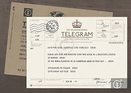 telegram wedding invitation personalised telegram wedding invitation save the date