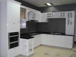 kitchen kitchen cupboard paint in white color white interior