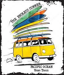 surf car vector surf car print u2014 stock vector swsctn80 hotmail com 96956810