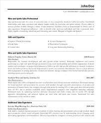 Inside Sales Resume Samples by Resume Example 8 Samples In Word Pdf
