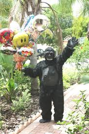 gorilla balloon palm gorilla grams gorilla balloon bouquet delivery