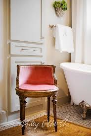 pink french bathroom chair french bathroom